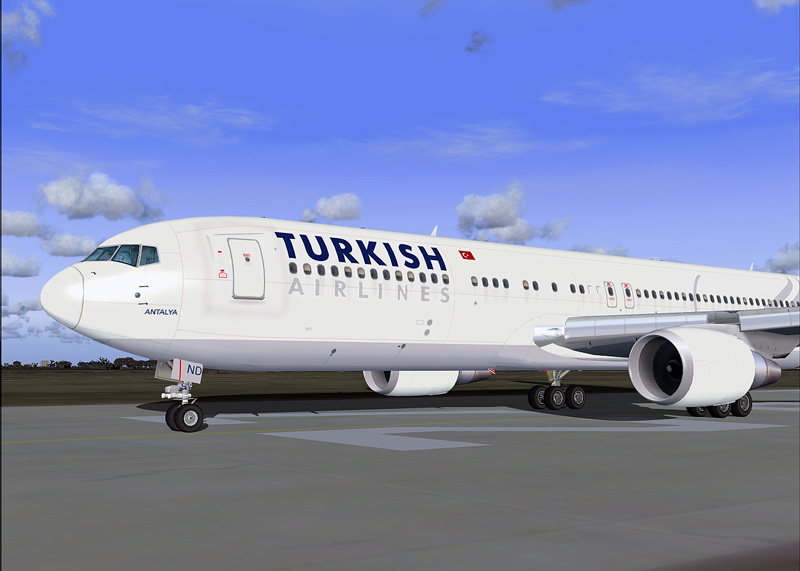 Turkish Airlines Level-D B767-300